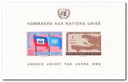Haïti 1958, Postfris MNH, UNO - Haïti