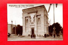 Paris : Exposition Des Arts Décoratifs En 1925 . Pavillon De L'Italie, Cpa Animée - Tentoonstellingen