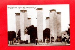 Paris : Exposition Des Arts Décoratifs En 1925 . Porte De La Concorde, Cpa Animée - Tentoonstellingen
