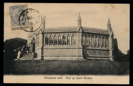 B3792 INDIA - CAWNPORE WELL - VISIT OF LORD CURZON - India