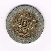 &   WEST AFRICAN STATES  200 FCFA  2003 - Centrafricaine (République)