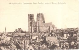 Bruxelles - CPA - Brussel - Panorama Sur Sainte-Gudule - Panoramische Zichten, Meerdere Zichten