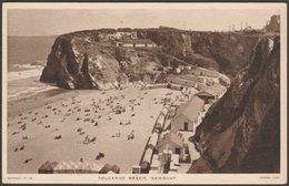 Tolcarne Beach, Newquay, Cornwall, C.1940s - Tuck's Postcard - Newquay