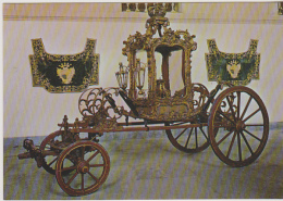 Postcard - National Coach Museum, Lisbon - Processional Chariot Of Our Lady Of Cabo - 18th C - No. 22 - VG - Non Classés