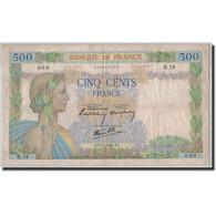 France, 500 Francs, 500 F 1940-1944 ''La Paix'', 1940, 1940-01-04, TB - 1871-1952 Gedurende De XXste In Omloop