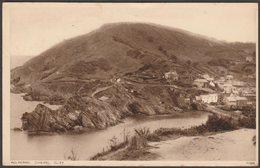 Chaipel Cliff, Polperro, Cornwall, 1938 - Photochrom Postcard - England