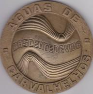 PORTUGAL MEDAL - AGUAS DE CARVALHELHOS - 1975  - MINERAL WATER - Professionals / Firms
