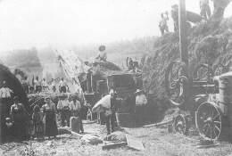 Flamarens Battage A La Locomotive En Lomagne 32 GERS  13   (scan Recto-verso)MA2174Ter - Otros Municipios