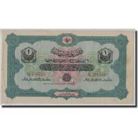 Billet, Turquie, 1 Livre, AH1332, KM:68a, TTB - Turquie