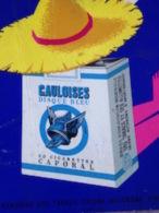 GAULOISES DISQUE BLEU Cigarette Caporal - Objets Publicitaires