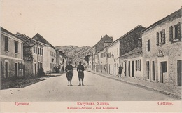 AK Cettinje Cetinje Cettigne Цетиње Katunska Straße A Kotor Cattaro Montenegro Crna Gora Црна Гора Serbien Serbia Srbija - Serbien