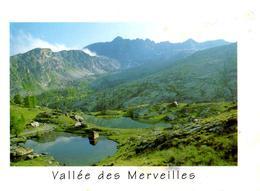 CPM - ALPES MARITIMES - VALLEE DES MERVEILLES - VALLON DE FONTANALBE  - LES LACS JUMEAUX ET LE MONT BEGO - France