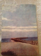 Lithuania Palanga The Baltic Sea Pedestrian Bridge To The Sea 1965 - Puentes