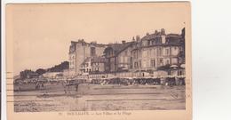 CPA - 11. HOULGATE Les Villas Et La Plage - Houlgate