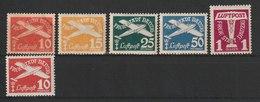 Danzig / Flugpostmarken (VII)  / MiNr. 251-255 - Deutschland