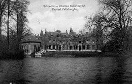 Schooten - Chateau Caixberghe / Kasteel Calixberghe - Schoten