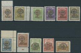 LITAUEN 257-67 **, 1926, Waisenhäuser, Postfrischer Prachtsatz, Mi. 100.- - Litauen