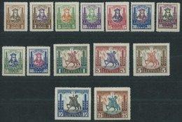 LITAUEN 293-306 *, 1930, Vytauta Der Große, Falzrest, Prachtsatz - Litauen