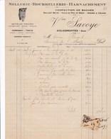 AIGUES MORTES SAVOYE SELLERIE BOURRELLERIE HARNACHEMENT ARTICLES D ECURIE CORDAGES TRAITS ANNEE 1926 - France