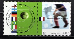 FRANCE 2002 - DUO Y.T. N° 3483 A 3484 - NEUFS** - Frankreich