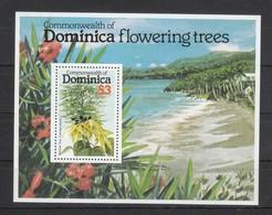 Dominica 1979**, Blühende Bäume / Dominica 1979, MNH, Flowering Trees - Anguilla (1968-...)