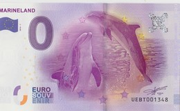 BILLET TOURISTIQUE 2016 DAUPHINS DU MARINELAND D ANTIBES - EURO