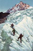 Chamonix - Aiguille Du Midi Et Glacier Des Bossons  / J.J. 6660 - Alpinisme