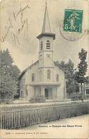 Pays Div -ref L655- Suisse - Geneve - Temple Des Eaux Vives - Theme Temples - - GE Geneva
