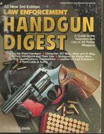 Law Enforcement Handgun Digest By Jack Lewis - Third Edition - Livres, BD, Revues