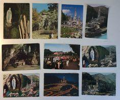 Lotto 10 Cartoline - LOURDES - Cartoline