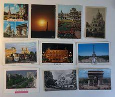 Lotto 10 Cartoline - PARIS PARIGI - 5 - 99 Cartoline