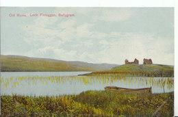 Scotland Postcard - Old Ruins - Loch Finlaggan - Ballygrant - Ref ND1158 - Argyllshire