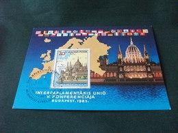 CARTOLINA POSTALE MAXIMUM  MAGYAR POSTA BUDAPEST 1983 - Borse E Saloni Del Collezionismo
