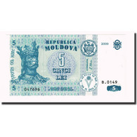 Billet, Moldova, 5 Lei, 2009, KM:9e, NEUF - Moldavie