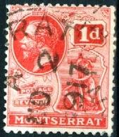 MONTSERRAT, COLONIA BRITANNICA, BRITISH COLONY, RE GIORGIO V, 1916, FRANCOBOLLI USATI  Mi. 58…Scott 44 - Montserrat
