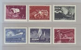 YOUGOSLAVIE - 1950 - YT N° 562/567  Journée De La Marine NEUF * - Neufs