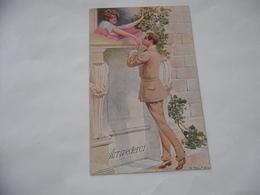 CARTOLINA POSTCARD INNAMORATI ARRIVEDERCI S.TALMAN GREETINGS - San Valentino
