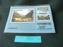CARTOLINA POSTALE PER ESPAMER 1980 SVEZIA  FRANCOBOLLI TEMA EUROPA - Borse E Saloni Del Collezionismo