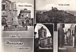 Cartolina Da Mazzarino, Caltanissetta - Caltanissetta