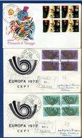 ITALIA - FDC 1973 - CARNEVALE VIAREGGIO - EUROPA - 6. 1946-.. Repubblica