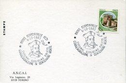 33252 Italia, Special Postmark 1985 Guardavalle Catanzaro Cardinal  Guglielmo Sirleto Centenario Morte - Christianisme