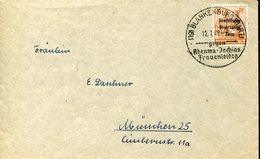 33256 Germany,  Sowiet Zone, Special Postmark 1948 Blankenburg Gegen Rheuma Ischias Frauenleiden - Soviet Zone