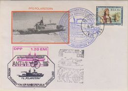 South Africa 1988 Polarstern Ca 18 III 88 Capetown Cover (38549) - Poolshepen & Ijsbrekers