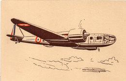 BLOCH 131 - Appareil Multiplace De Bombardement (Type Ancien) Illustration De Hoekinger ? (105555) - 1939-1945: 2ème Guerre