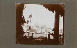 BEAUVAIS(oise) - Vue Des Arcades, Photo Vers 1900 Format 7,6cm X 8,8cm . - Places