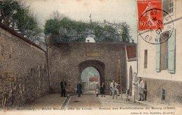 91 ESSONNE - MONTLHERY Porte Baudry, Aquarellée - Montgeron