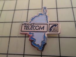 Pin910e Pin's Pins / Beau Et Rare : FRANCE TELECOM : CORSE - France Telecom