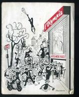 Vieux Papiers - Programme L'olympia - 5 Au 18 Février 1954 - Programmes