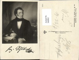562852,Franz Schubert Portrait V. W. A. Rieder Komponist Musik - Schriftsteller