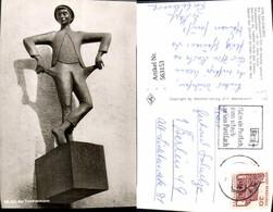 563153,Foto Ak Ratzeburg Ich Bin Der Tachenmann Statue Monument - Monuments